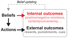 A theoretical framework for motivated belief formation!